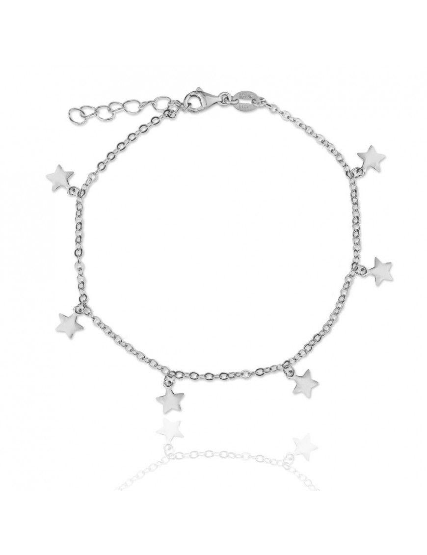 Pulsera Plata estrella Mujer 115356