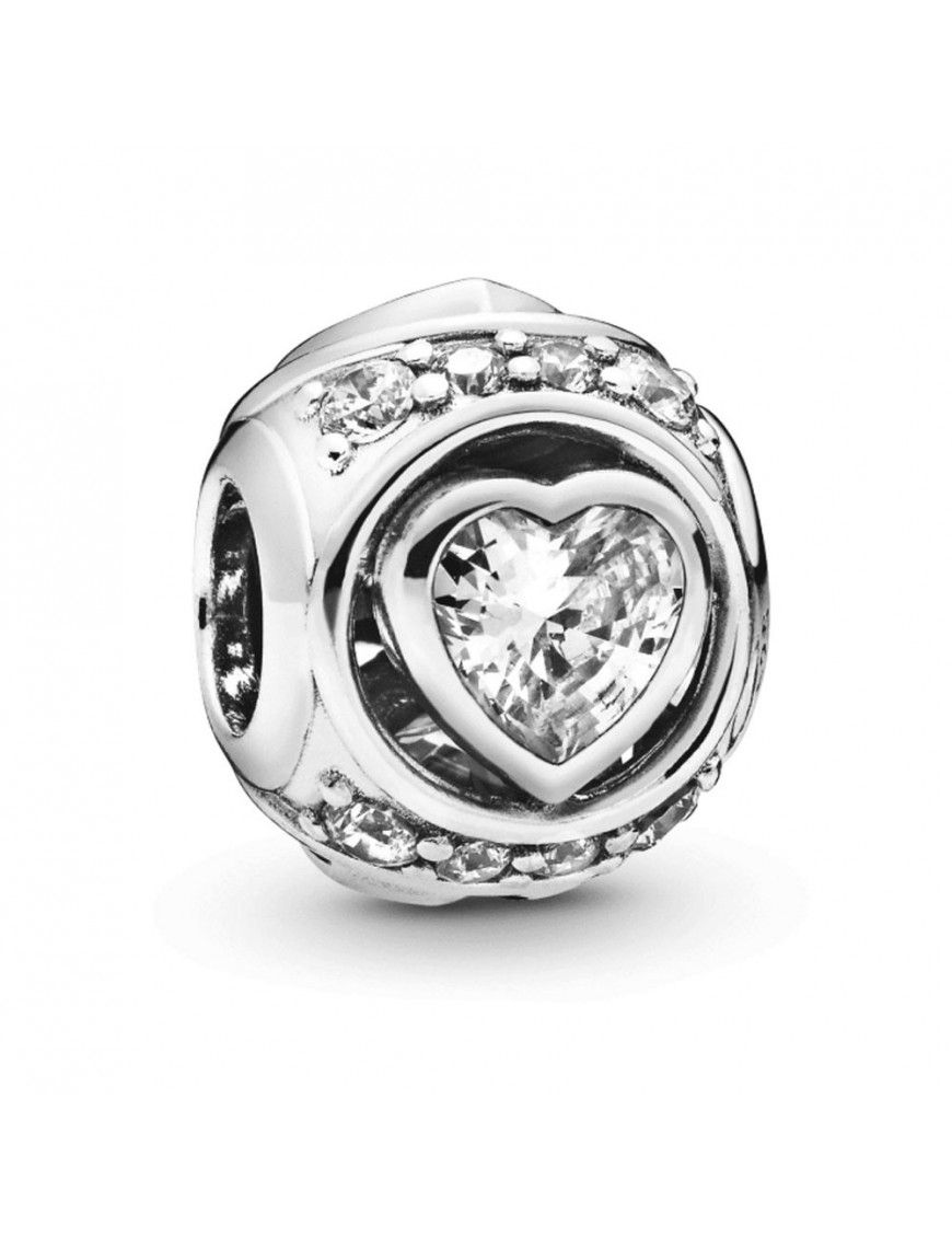 Charm Pandora Plata Corazón en relieve 798464C01