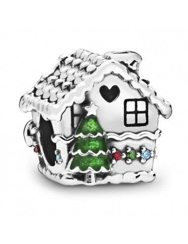 Comprar Charm Pandora Plata Casa de Jengibre 798471C01 online