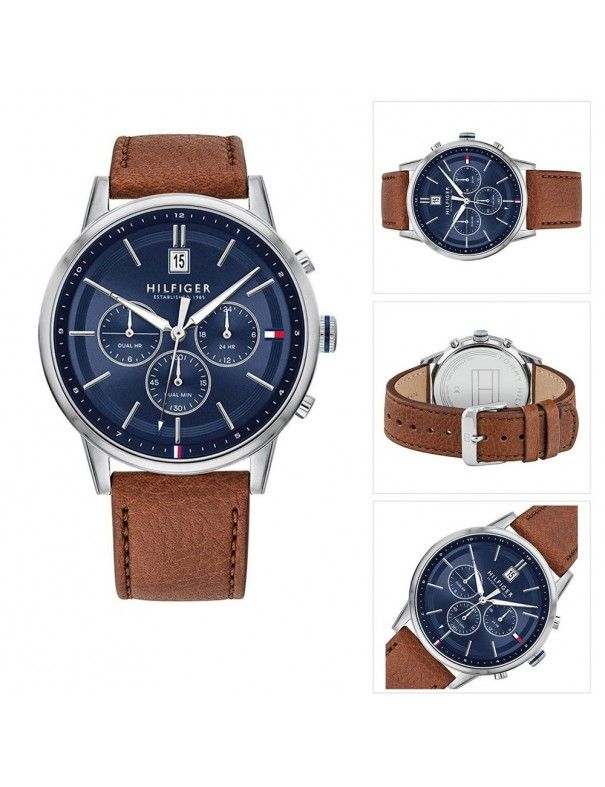 Reloj Tommy Hilfiger multifunción hombre Kyle 1791629