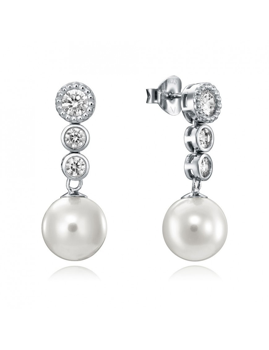 Pendientes Viceroy Plata Mujer 71016E000-38