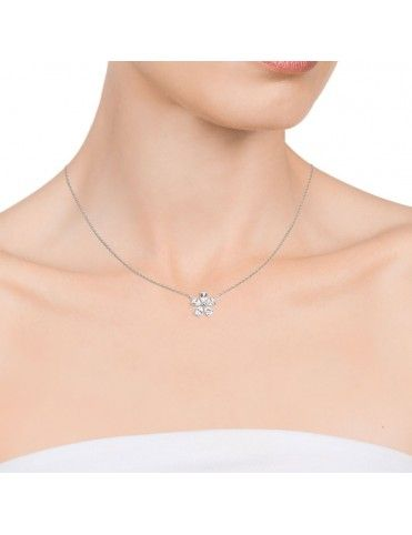 Collar Viceroy Plata Mujer flor 71017C000-38