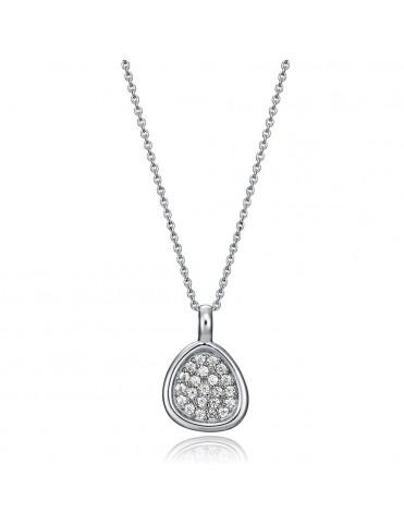 Collar Viceroy Plata Mujer semitriángulo 71028C000-38