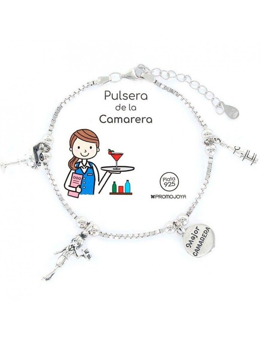 Pulsera plata Mujer Camarera 9105397
