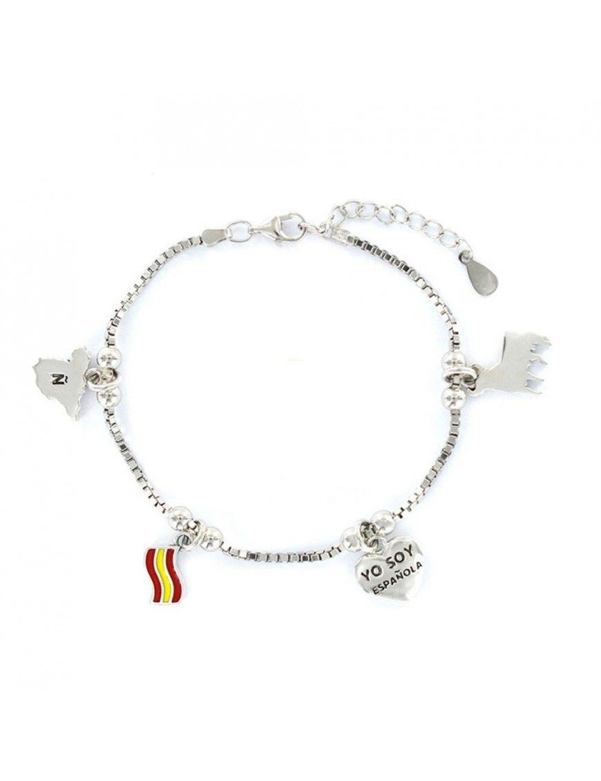 Pulsera plata Mujer España 9107649
