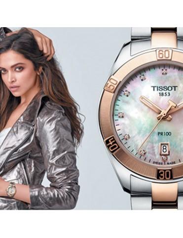 Reloj Tissot Mujer PR 100 Sport Chic T101.910.22.116.00