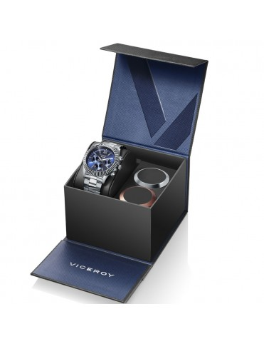 Pack Reloj Viceroy Hombre crono Desing 401205-33