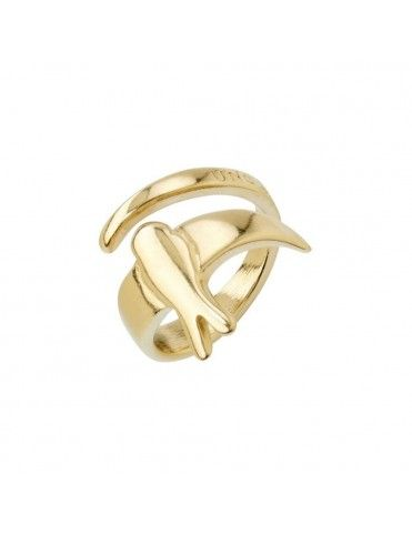 Anillo Uno de 50 Metal Mujer COME FLY WITH ME ANI0623ORO00015