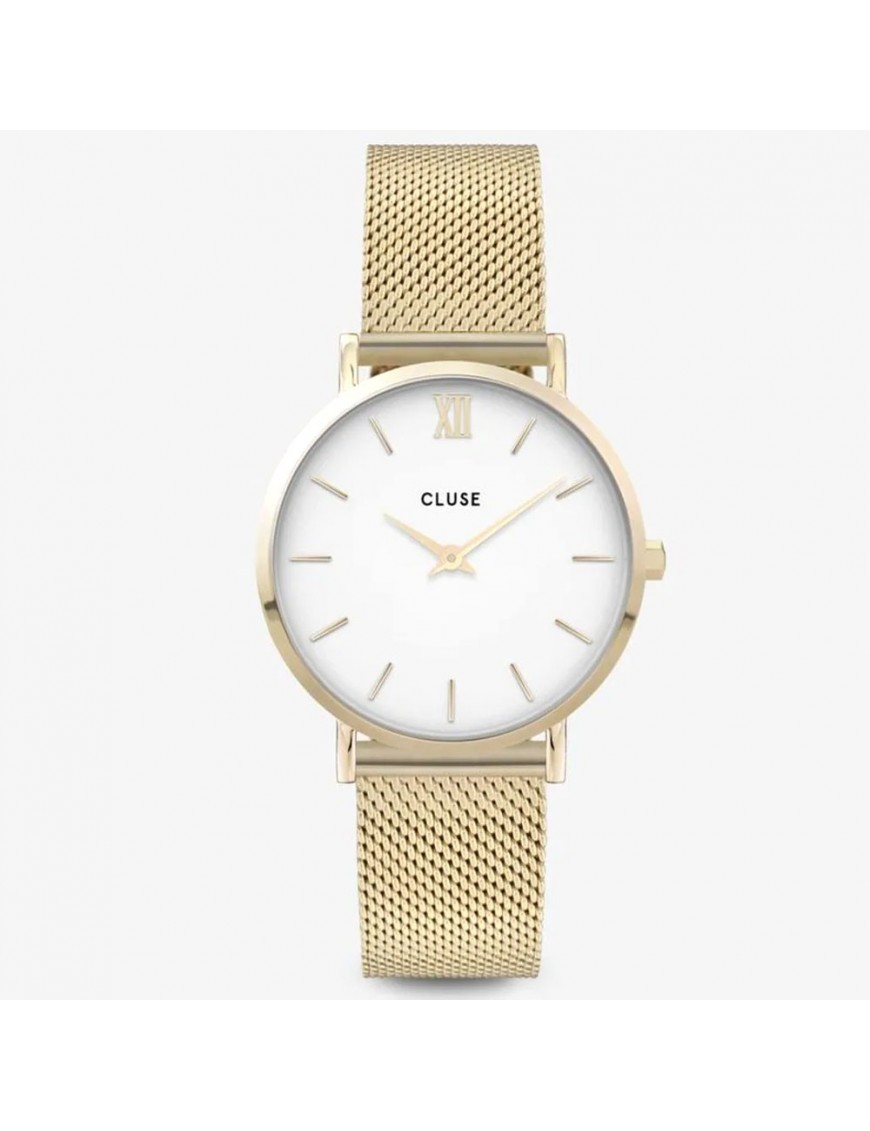 Reloj Cluse Minuit Mesh Silver Mujer CW0101203007