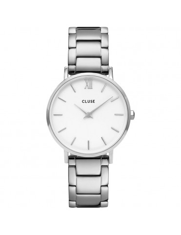 Reloj Cluse Minuit Mesh Silver Mujer CV0101203026