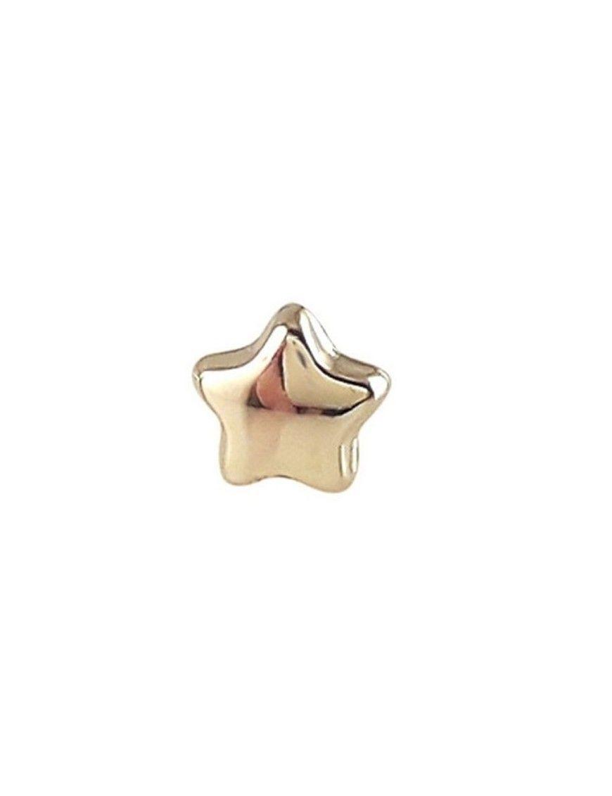 Pendiente Oro 18 Klts. niña estrella 45MA5100