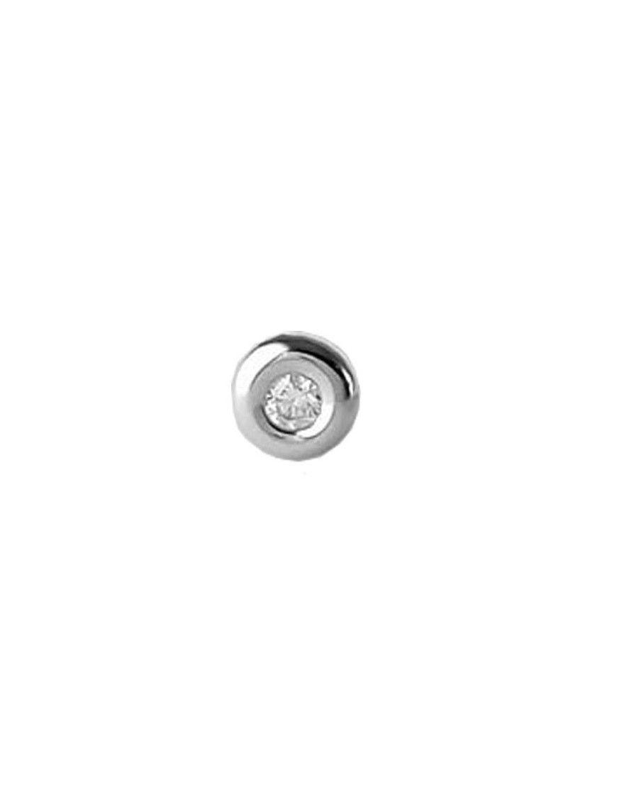Pendiente suelto Oro 18 Klts. niña circonitas 61MB1701/6