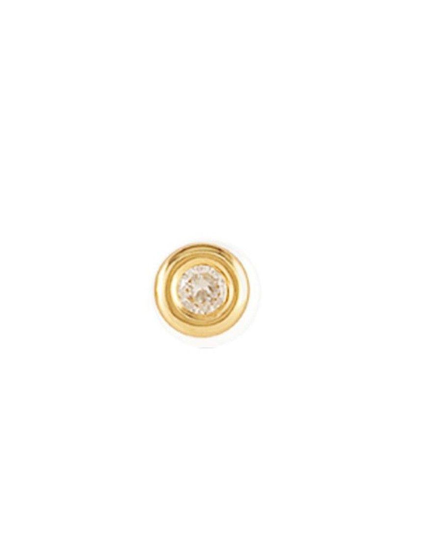 Pendiente suelto Oro amarillo18 Kts Niña 61MA1702/6