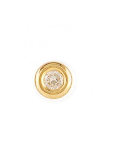 Pendiente suelto Oro amarillo18 Kts Niña 61MA1703/6