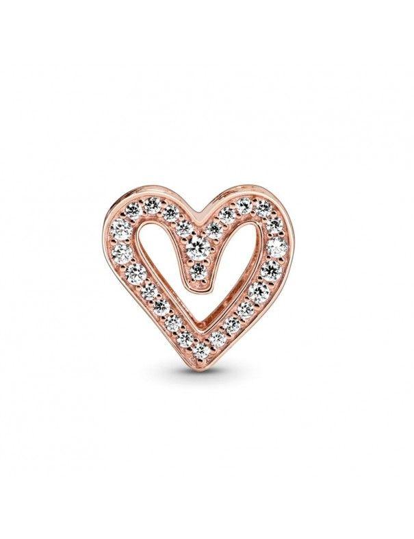 Charm Pandora Rose corazón 788692C01