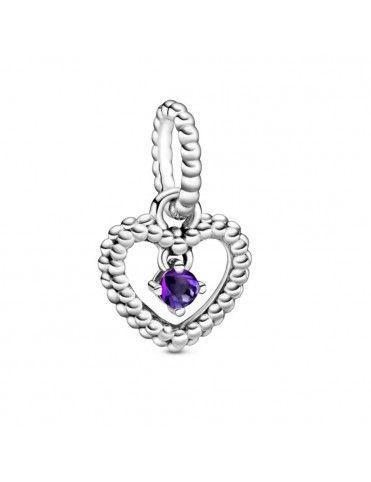Comprar Charm colgante Pandora plata con esferas Morado 798854C03 online