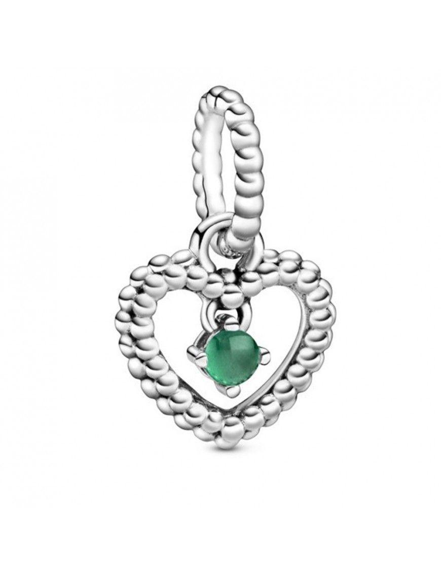 Charm colgante Pandora plata con esferas verde 798854C05