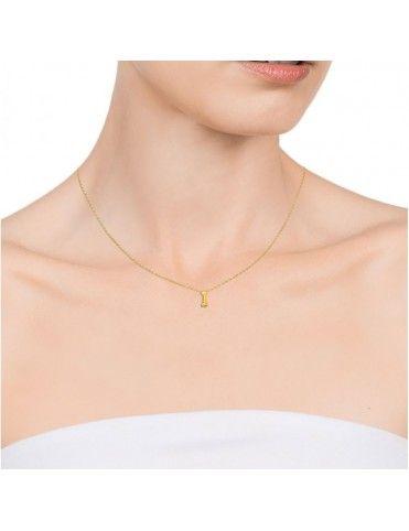 "Collar Viceroy Plata Mujer Número ""1"" 61041C000-01"