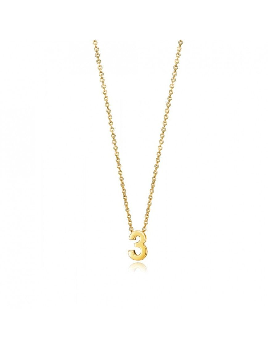 "Collar Viceroy Plata Mujer Número ""3"" 61041C000-03"