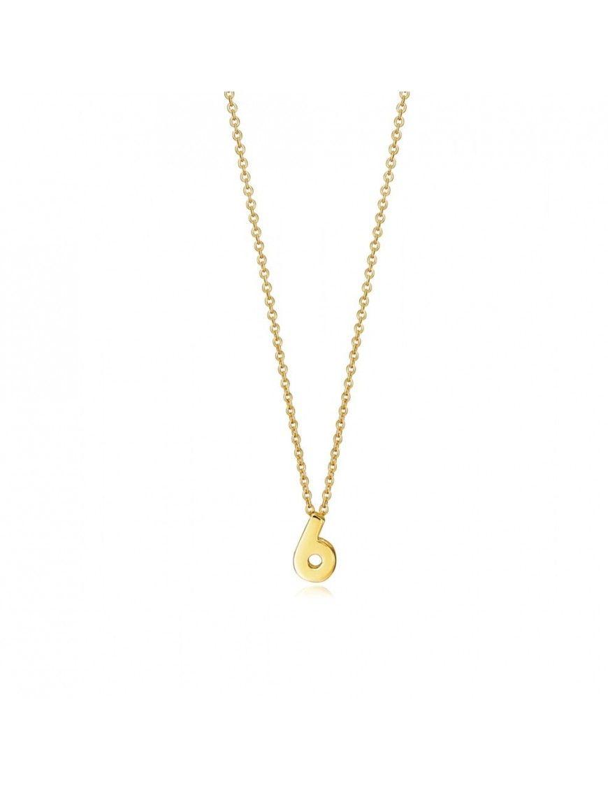 "Collar Viceroy Plata Mujer Número ""6"" 61041C000-06"