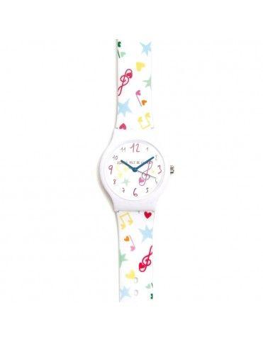 Reloj Agatha Niña Corazones fila colores AGR263