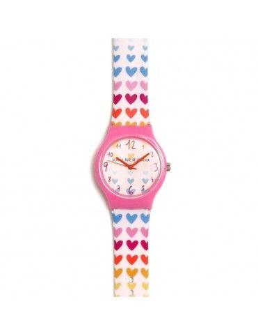 Comprar Reloj Agatha Niña Corazones fila colores AGR264 online