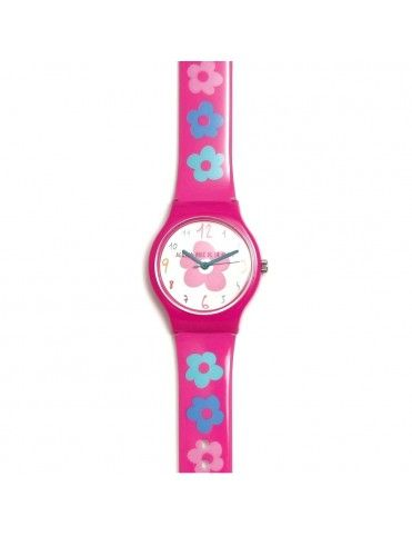 Reloj Agatha Niña Flores fila colores AGR265