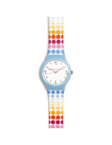 Reloj Agatha Niña Topos fila colores AGR266
