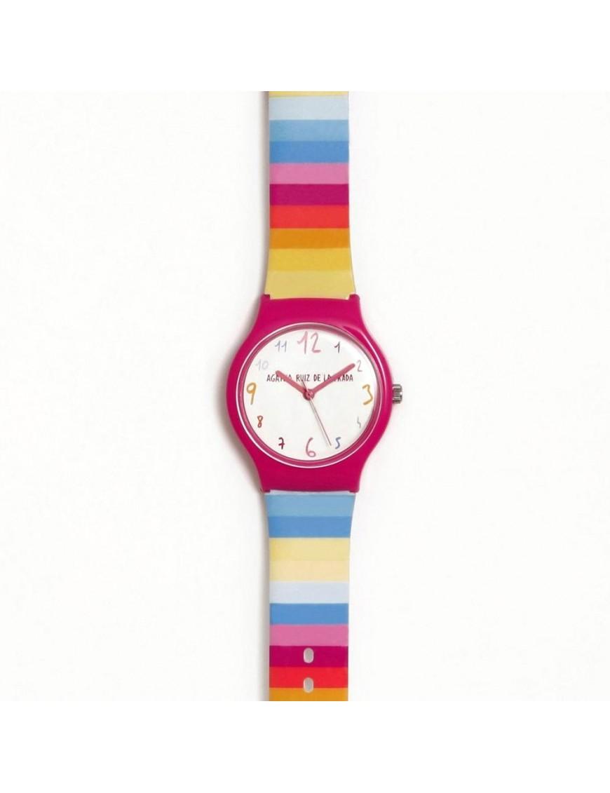Reloj Agatha Niña Flip Arcoiris AGR267