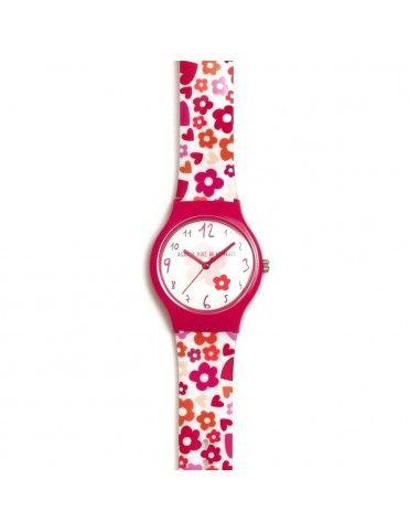 Reloj Agatha Niña Flip Flores locas AGR268
