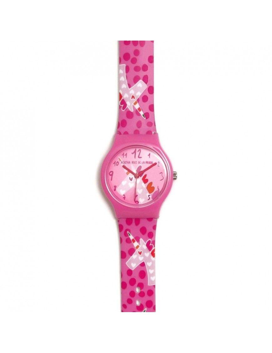 Reloj Agatha Niña Flip Unicornio AGR272