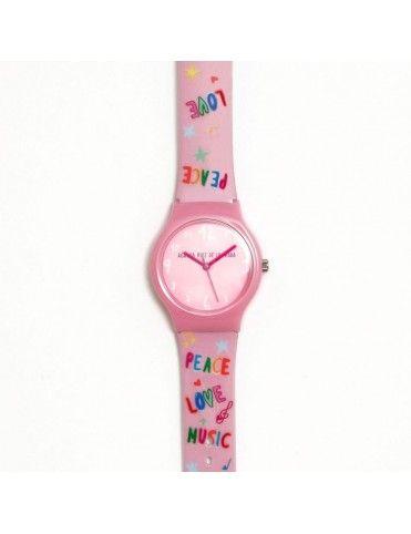 Reloj Agatha Niña Flip Peace, Love & Music AGR273