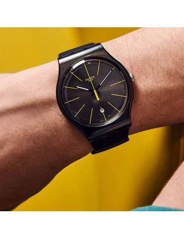 Reloj Swatch Unisex SUOB404 Charcolazing