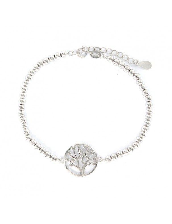 Pulsera Plata mujer árbol de la vida 9109130