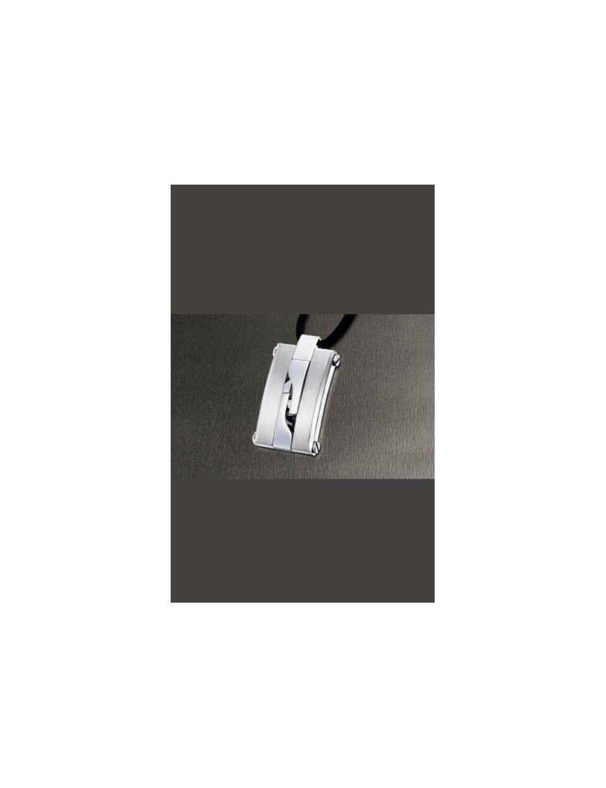 COLLAR LOTUS STYLE ACERO HOMBRE LS1174-1/1