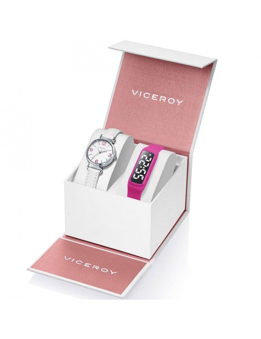 Pack reloj+reloj fitness Viceroy niña 461132-05