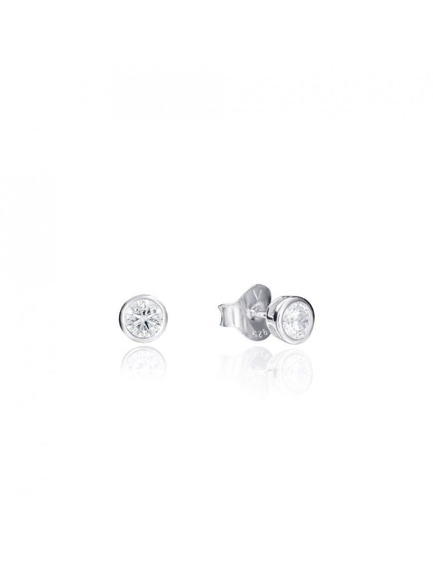 Pendientes Viceroy Plata chatón Mujer 5087E000-04