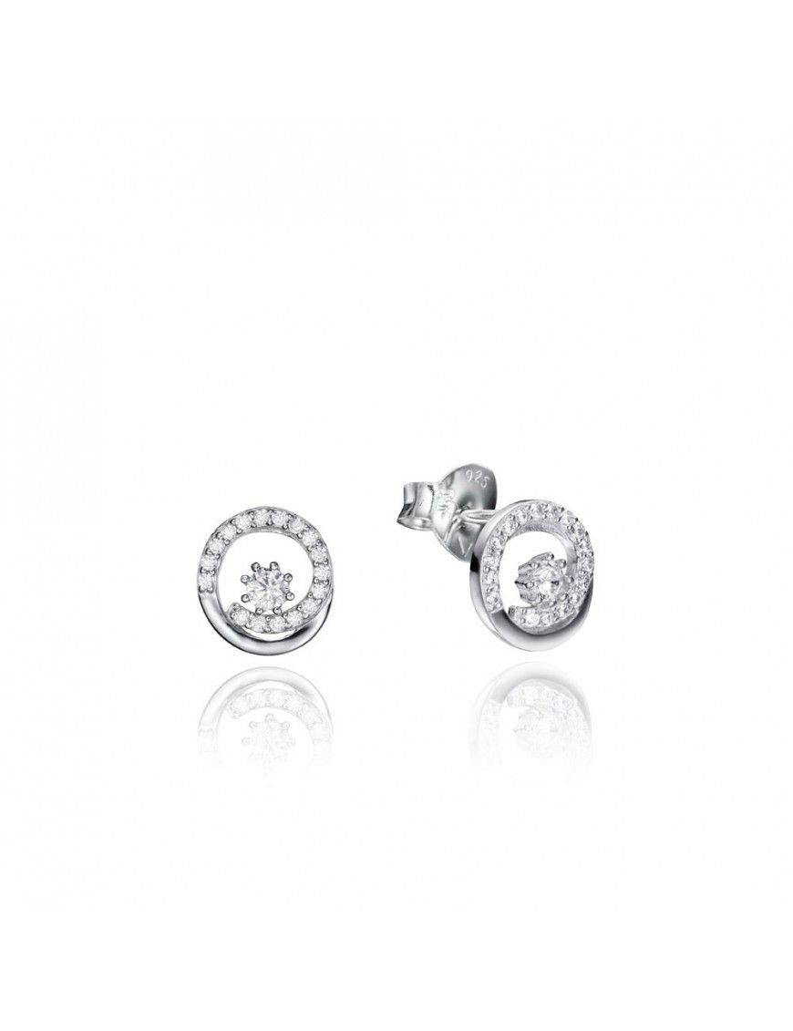 Pendientes Viceroy Plata disco Mujer 71033E000-38
