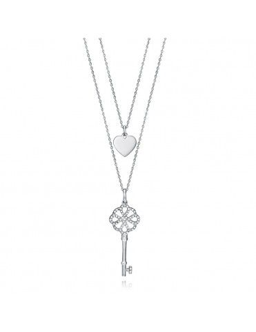 Collar Viceroy Metal doble Mujer 15063C01010