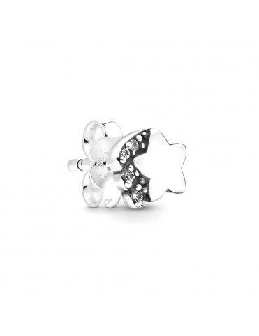 Pendiente Pandora Plata Mi Estrella Fugaz 298549C01