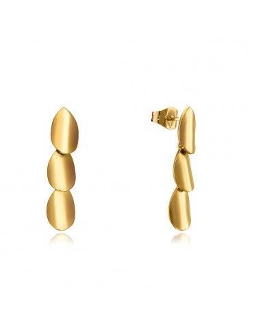 Pendientes Viceroy acero dorado 75174E01012