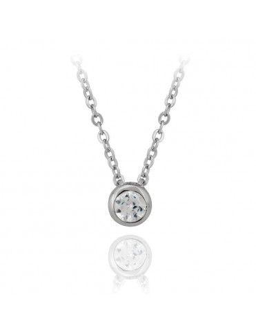 Comprar Collar plata circonitas 135160 online