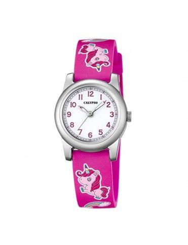 Reloj Calypso unicornio para niña K5713/B