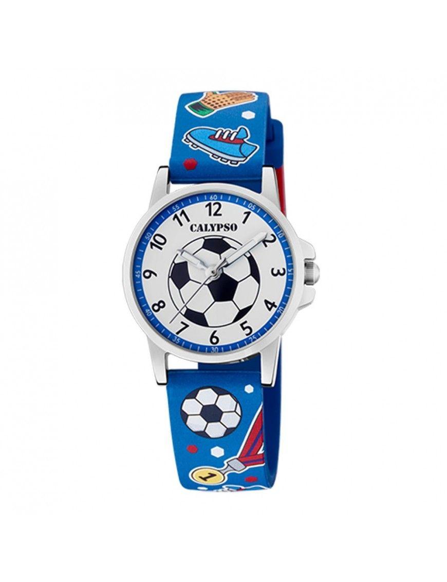 Reloj Calypso balón de futbol niño K5790/1