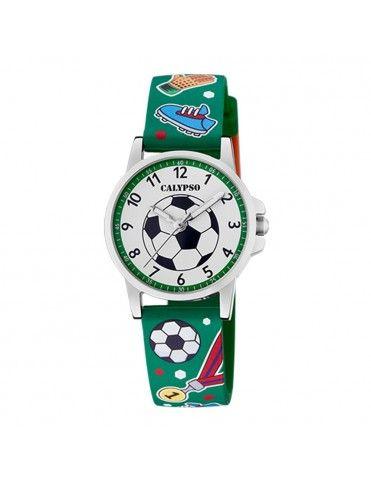 Reloj Calypso balón de fútbol para niño K5790/2
