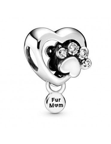 Comprar Charm Pandora Corazón y Huella 798873C01 online