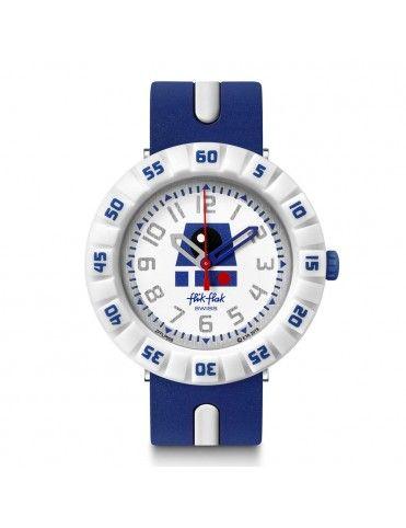 Reloj Flik Flak Star Wars R2D2 FFLP006