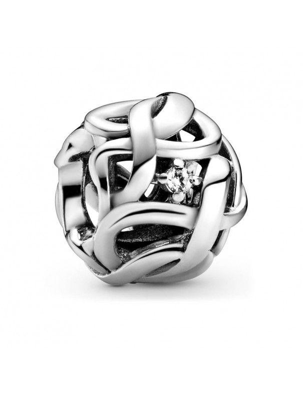 Charm Pandora Infinito Trenzado Brillante 798824C01