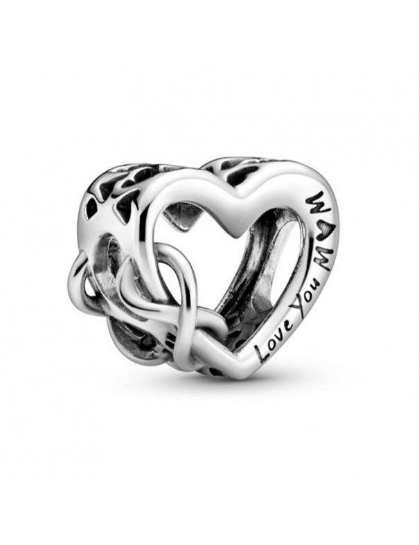 Charm Pandora Love You Mum Corazón Infinito 798825C00