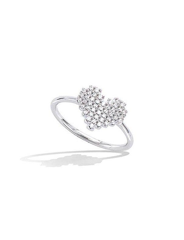 Anillo plata corazón de circonitas 11EW0760CZ
